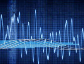 Abstract sound wave — Stock Photo