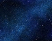 Stars in space or night sky — Stock Photo