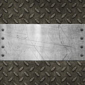 Old grungy metal background — Stock Photo