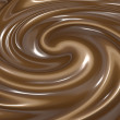 Swirling chocolate - Stock Vector