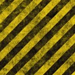 Hazard stripes — Stockvektor