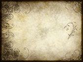 Disegno arabesco su carta — Vettoriale Stock
