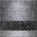 Old metal background texture — Stock Vector