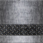 Old metal background texture — ストックベクタ