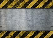 Hazard stripes — Stock Vector