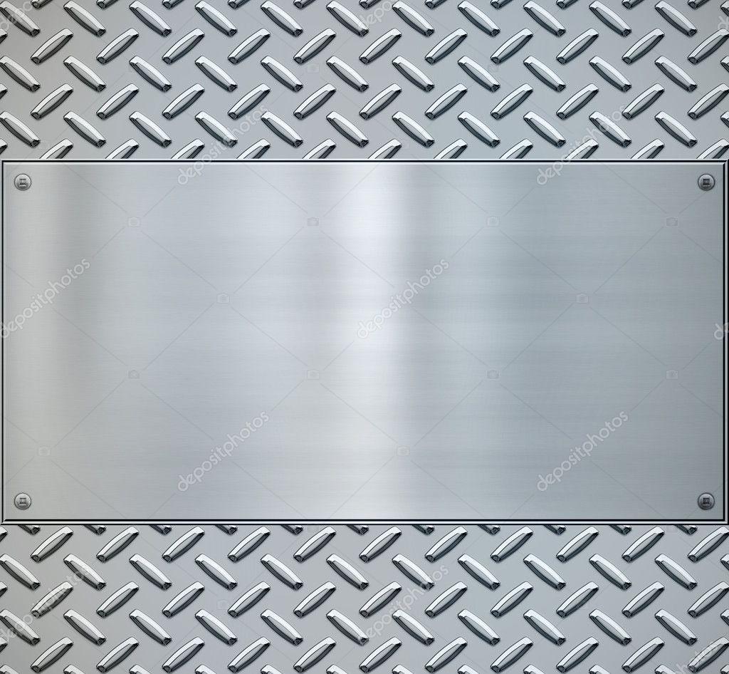 diamond plate metallic border - photo #35
