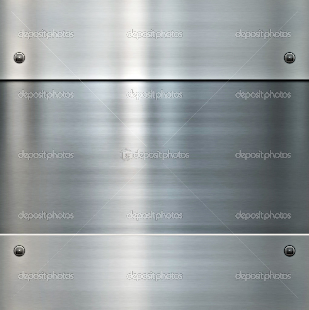 Image of a shiny brushed metal background  Image vectorielle #2897012