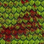 Bloody dragonskin — Stock Vector
