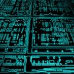 Glowing circuit — Stock Vector #2947259