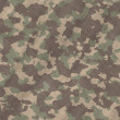 Camouflage material background texture - Stock Vector