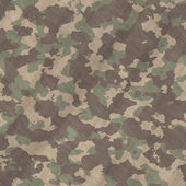 Camouflage material background texture — Stock Vector
