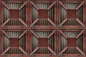 Rusting crate — Stock Vector