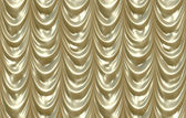 Gold curtains — Stock Vector