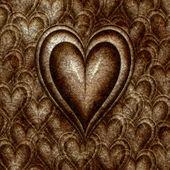 Heart of stone — Stock Vector