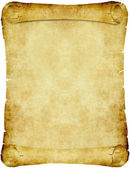 Vintage parchment paper scroll — Stock Vector