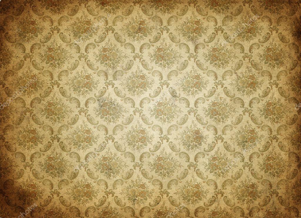 alte tapete hintergrund stockvektor clearviewstock 2960055. Black Bedroom Furniture Sets. Home Design Ideas