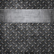 Old metal background texture — Image vectorielle