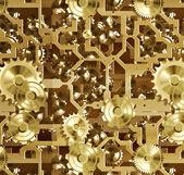 Cogs and clockwork machinery — Stock Photo