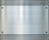 Shiny metal background texture — Stock Photo