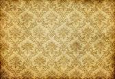 古いダマスク織壁紙 — ストック写真