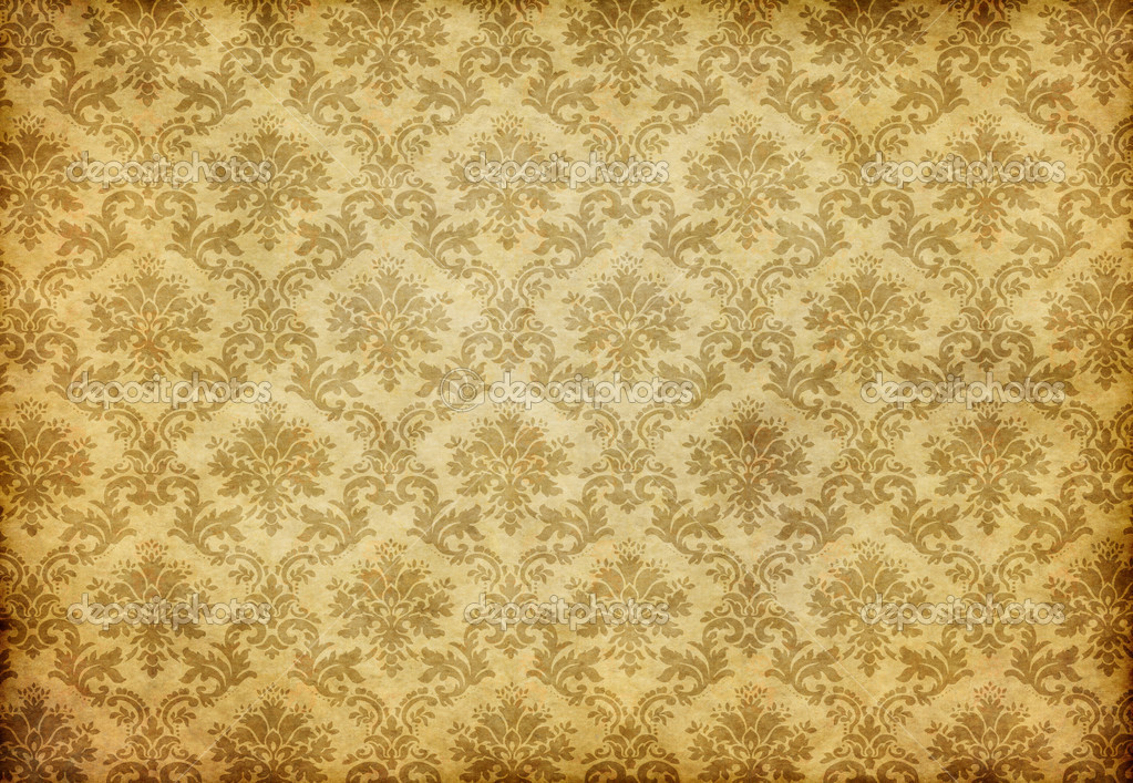 alte damast tapete stockfoto clearviewstock 3490693. Black Bedroom Furniture Sets. Home Design Ideas