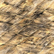Straw thatch background — Stock Photo