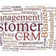 Crm customer relations management — Stok Fotoğraf #3646552