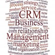 Crm customer relations management — Stok fotoğraf