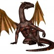 Fire dragon - Stock Photo