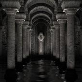 Underground sanctuary — Stock Photo