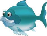 River fish — Stock Vector