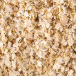 Rolled oats background - Stock Photo