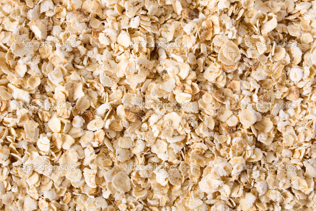 Nutritious rolled oats as texture or background — Stock Photo #2810233