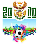 World Cup In South Africa 2010 — Stock Vector