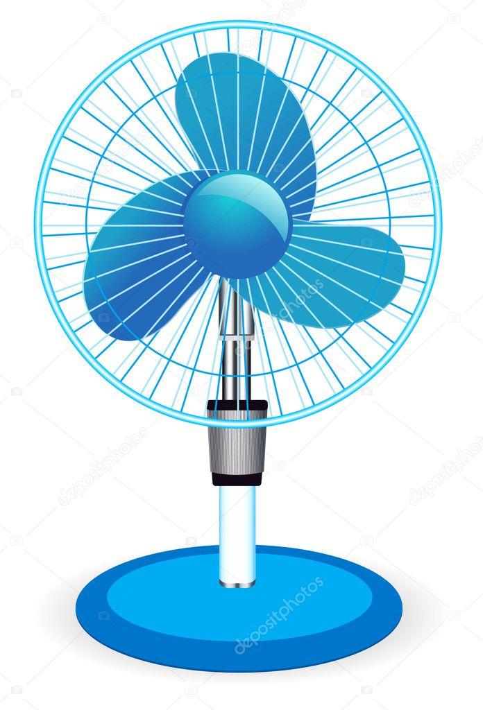Рисунок на вентиляторе