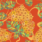 Beautiful flower seamless pattern — Stock Vector