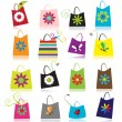 Stockvector : Set of shopping bags