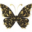 Butterfly, ornate for your design — Vettoriali Stock