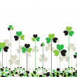 Stock Vector: Patrick saint day background