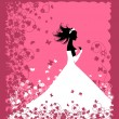 Royalty-Free Stock Vector Image: Bride. Wedding illustration for your design