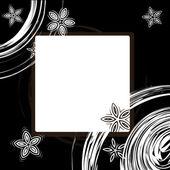 Diseño de marco de foto — Vector de stock