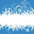Royalty-Free Stock Vector Image: Christmas background with place for your text