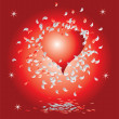 Royalty-Free Stock Vector Image: Heart, valentine background