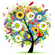 thumbnail of Floral tree beautiful