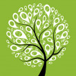 Royalty-Free Stock Vector Image: Art tree beautiful for your design