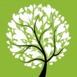 Art tree beautiful for your design — Imagen vectorial
