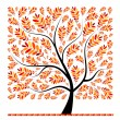 Beautiful autumn tree for your design — Stock Vector #3847213