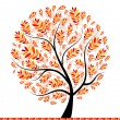 Beautiful autumn tree for your design — Stock Vector #3847232