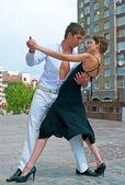 Latino dance — Stock Photo