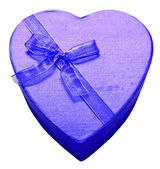 Violet hart — Stockfoto